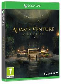 Xbox One Cover - Adam's Venture: Origins, Rechte bei Soedesco