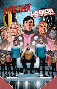 Cover von Star Trek / Legion of Super Heroes Crossover