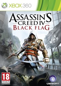 Assassin's Creed 4: Black Flag, Xbox 360 Cover