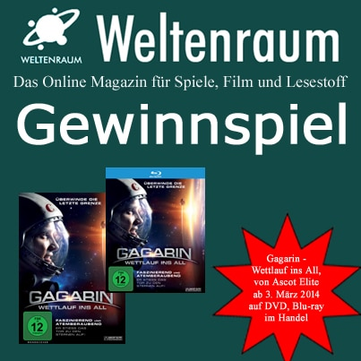 Gewinnspiel Gagarin