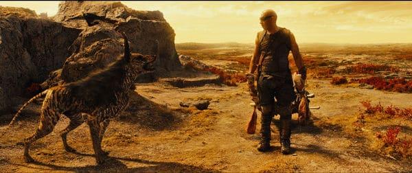 Riddick und sein CGI-Haustier - Rechte bei Universum Films