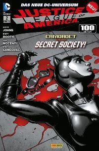 JLA Comic Cover