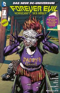 Comic Cover mit Jokers Tochter