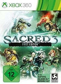 Sacred 3, Cover