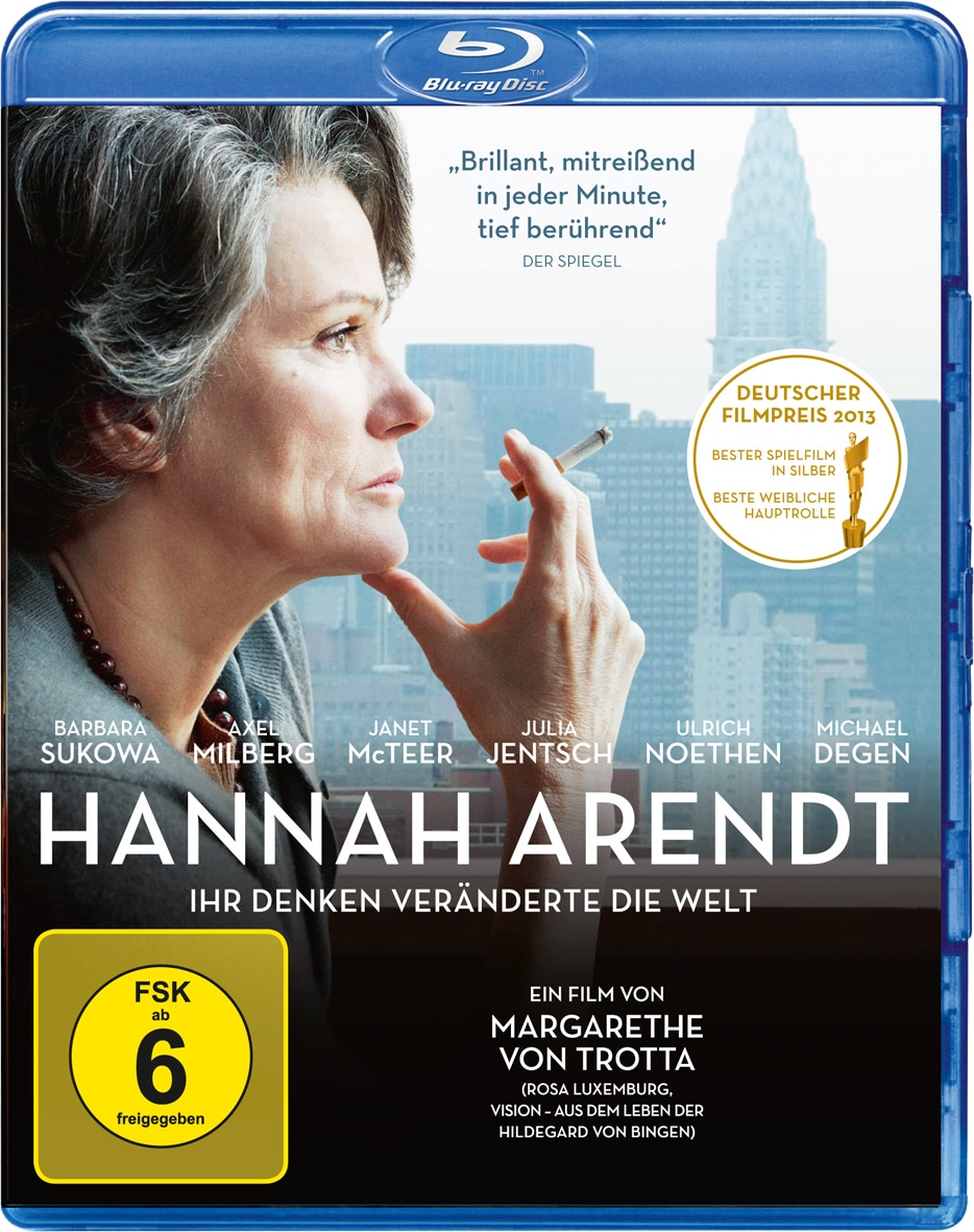 Hannah Arendt BluRay Cover