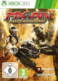 MX vs ATV - Supercross, Cover
