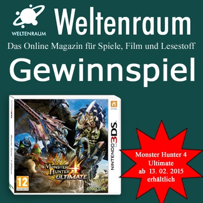 Gewinnspiel Monster Hunter 4 Ultimate