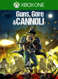 Xbox One Cover - Guns, Gore and Cannoli, Rechte bei Crazy Monkey Studios