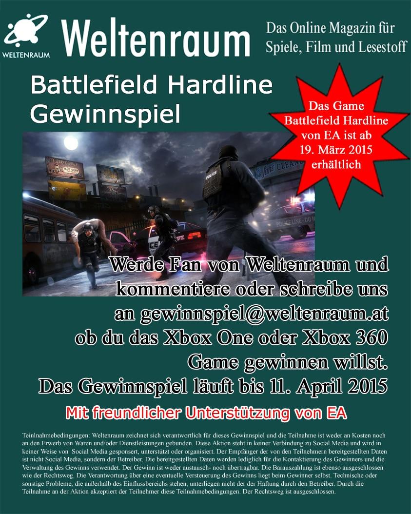 Gewinnspiel BF Hardline