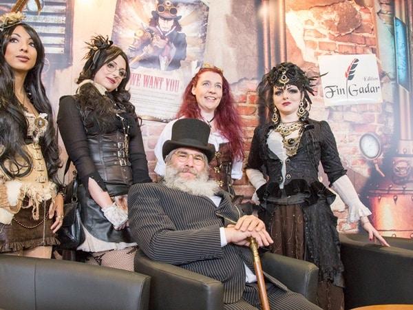 Steampunk Ameryll - Crew