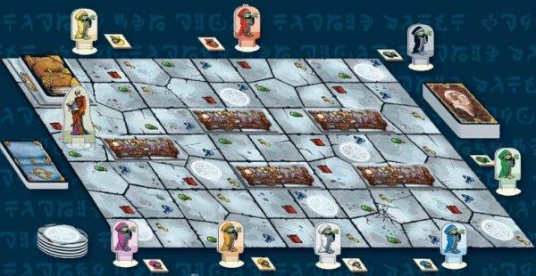 Kragmortha - Spielaufbau