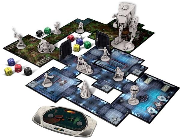 Star Wars Imperial Assault - Spielmaterial