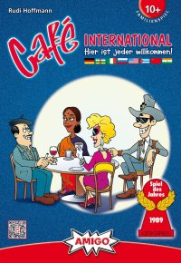 Cafe International - Cover