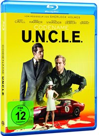 Blu-ray Cover - Codename U.N.C.L.E., Rechte bei Warner Bros. Home Entertainment
