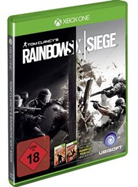 Xbox One Cover - Tom Clancy's Rainbow Six Siege, Rechte bei Ubisoft