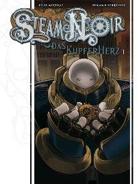 Comiccover - Steam Noir – Das Kupferherz #1, Rechte bei cross cult