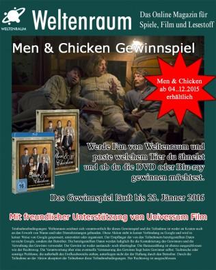Gewinnspiel Men & Chicken