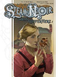 Comic Cover - Steam Noir: Das Kupferherz #2, Rechte bei cross cult