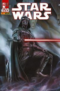 Comic Cover - Star Wars #4: Darth Vader, Rechte bei Panini Comics