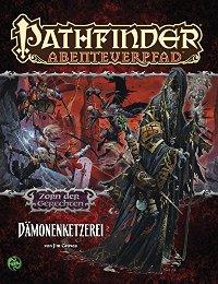 Zorn der Gerechten - Dämonenketzerei - Cover