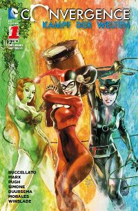 Comic Cover - Convergence Sonderband #1, Rechte bei Panini Comics
