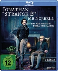 Blu-ray Cover - Jonathan Strange & Mr Norrell, Rechte bei Concorde Home Entertainment