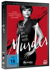 DVD Cover - How to get Away with Murder - Die komplette erste Staffel, Rechte bei ABC Studios / Disney