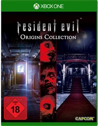 Xbox One Cover - Resident Evil - Origins Collection, Rechte bei Capcom