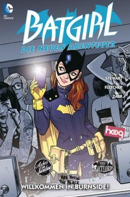 Comic Cover - Batgirl - Die neuen Abenteuer #1: Willkommen in Burnside, Rechte bei Panini Comics