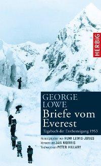 Buchcover - Briefe vom Everest - Tagebuch der Erstbesteigung 1953, Rechte bei Herbig