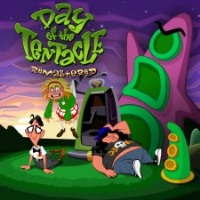 PS4 Cover - Day of the Tentacle Remastered, Rechte bei Double Fine Productions