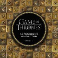 Cover vom Buch - Game of Thrones: Die Adelshäuser von Westeros, Rechte bein Panini Comics