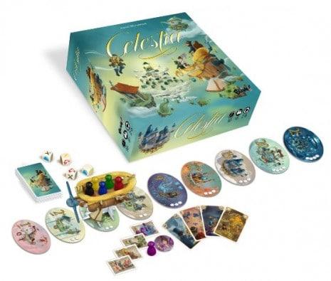 Spielmaterialien - Celestia, Recht bei Heidelberger Spieleverlag