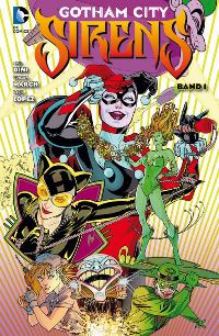 Comic Cover - Gotham City Sirens #1, Rechte bei Panini Comics