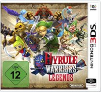 3DS Cover Hyrule Warriors: Legends, Rechte bei Nintendo