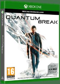 Xbox One Cover - Quantum Break, Rechte bei Microsoft Studios