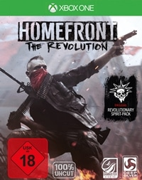 Xbox One Cover - Homefront: The Revolution, Rechte bei Deep Silver