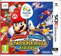 3DS Cover - Mario & Sonic bei den Olympischen Spielen - Rio 2016, Rechte bei Nintendo
