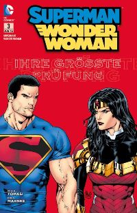 Comic Cover - Superman/Wonder Woman #3: Staatsfeind Nummer 1, Rechte bei Panini Comics