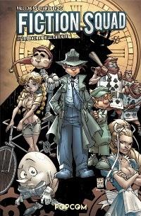 Comic Cover - Fiction Squad #1: Es zerbrach am hellichten Tag, Rechte bei popcom