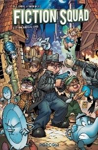 Comic Cover - Fiction Squad #2: Vier Königinnen und ein Ei, Rechte bei popcom