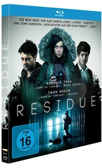 Blu-ray Cover - Residue - Staffel 1, Rechte bei polyband