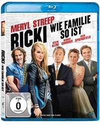 Blu-ray Cover - Ricki - Wie Familie so ist, Rechte bei Sony Pictures