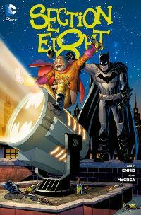 Comic Cover - Section Eight, Rechte bei Panini Comics