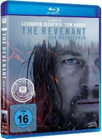 Blu-ray Cover - The Revenant, Rechte bei © 2015 Twentieth Century Fox