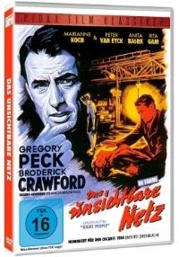 DVD Cover - Das unsichtbare Netz, Rechte bei Pidax Film
