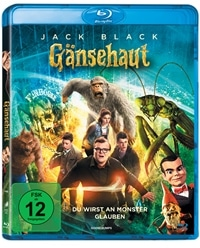 Blu-ray Cover - Gänsehaut, Rechte bei Sony Pictures