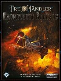 Warhammer 40.000: Freihändler - Raumflotte Koronus, Rechte bei Ulisses Spiele / Heidelberger Spieleverlag