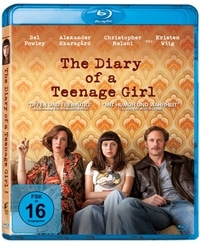 Blu-ray Cover - The Diary of a Teenage Girl, Rechte bei Sony Pictures