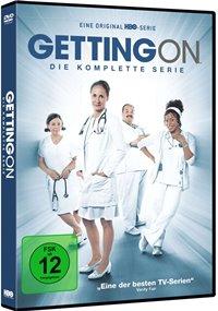 DVD Cover - Getting On - Die komplette Serie, Rechte bei Warner Bros.